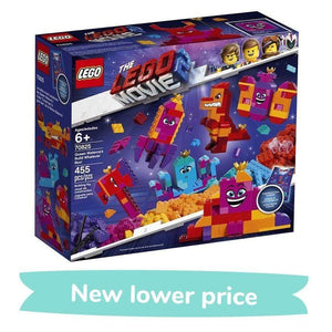 The LEGO Movie 2 Toy The LEGO Movie 2: Queen Watevra's Build Whatever Box! (455 Pieces)