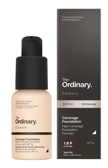 The Ordinary Beauty 1.0 P Very Fair THE ORDINARY Coverage Foundation( 30ml )