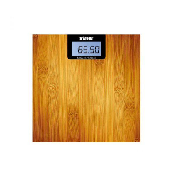 Trister Beauty Trister Wooden Bathroom Scale