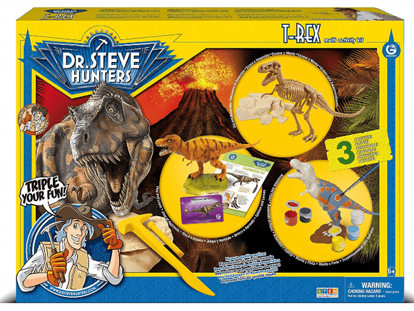 UNCLE MILTON Toys T.Rex Multi-Activity Kit-91081