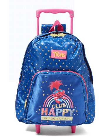 Universal Back to School Clup happy Trolley Bag