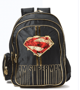 WB Back to School I am Superman Backpack