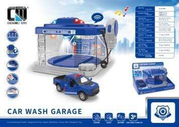 WILTON Toys Chengmei Toys ®Car wash garage