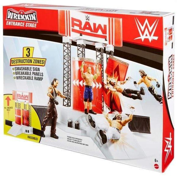 WWE Toys WWE 6'' WREKKIN ENTRANCE STAGE