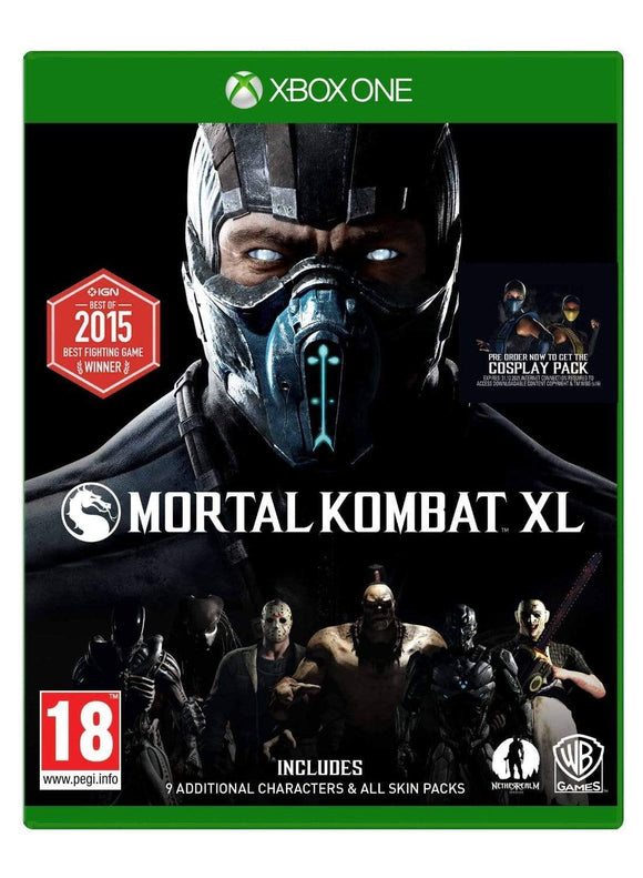 Xbox One Games XBOX ONE MORTAL COMBAT XL