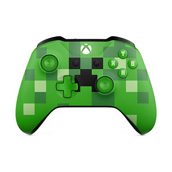 Xbox One Gaming Accessories Xbox One Wireless Controller - Minecraft Creeper
