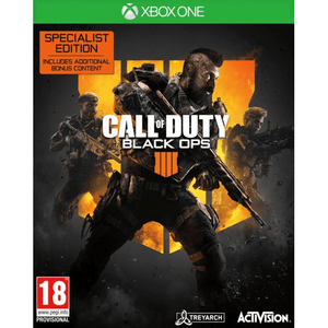 Xbox One Video Games Call Of Duty: Black Ops IIII Specialist Edition Xbox One