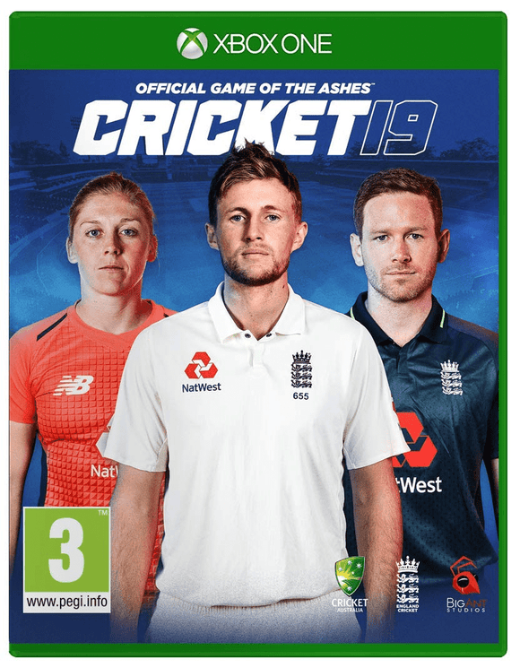 Xbox One Video Games Cricket 19: The Official Game Of The Ashes - Standard Xbox