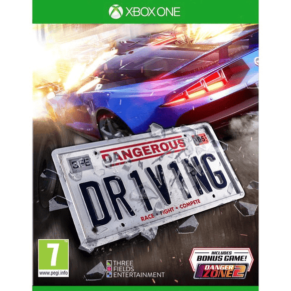 Xbox One Video Games Dangerous Driving Xbox  one