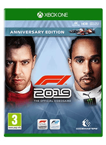 Xbox One Video Games F1 2019 - Anniversary Edition