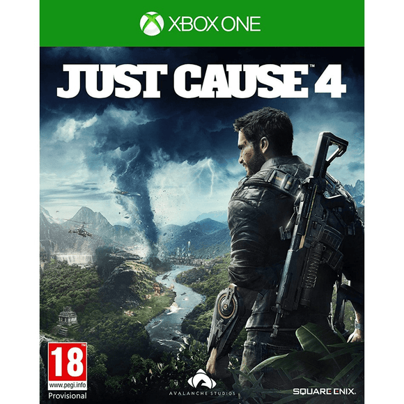 Xbox One Video Games Just Cause 4 Xbox One