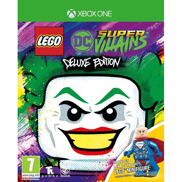 Xbox One Video Games LEGO DC Super-Villains Deluxe Edition Xbox One