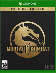 Xbox One Video Games Mortal Kombat 11 - Premium Edition