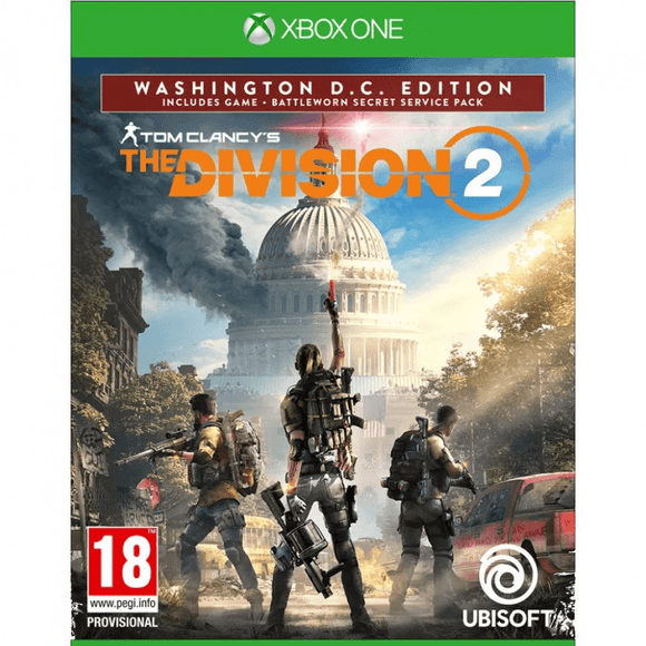 Xbox One Video Games Tom Clancy's - The Division 2 Washington D.C. Edition Xbox One