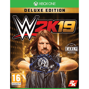 Xbox One Video Games WWE 2K19 Deluxe Edition Xbox One