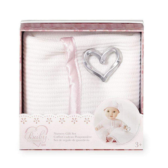 You & Me toys Baby Doll Nursery Gift Set