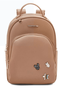 YUEJIN Back to School Faux Leather Backpack