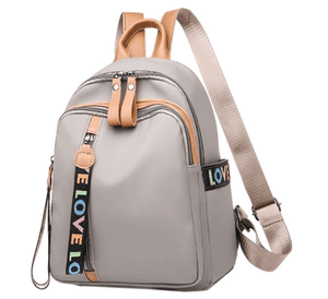ZAYA Back to School Zipper Closure Backpack
