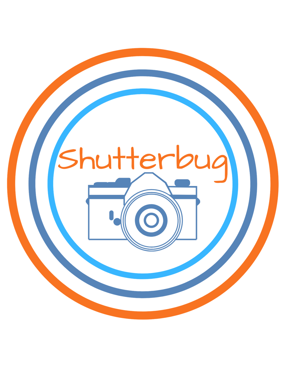 Camera Shutterbug T-Shirt - Shutterbug Shop