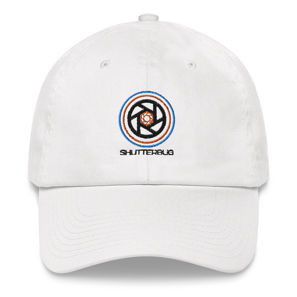 Circles & Shutters (Shutterbug) Embroidered Cap - Shutterbug Shop