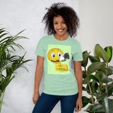 Say Cheese Smiley Face T-Shirt - Shutterbug Shop