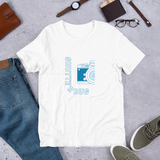 Shutterbug T-Shirt Blue Camera
