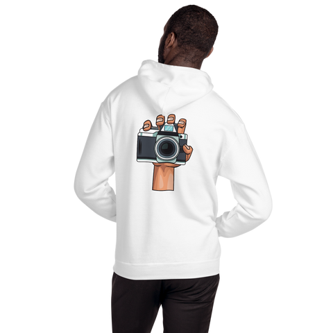 Hoodie Unisex Custom Design (double-sided print) - Shutterbug Shop