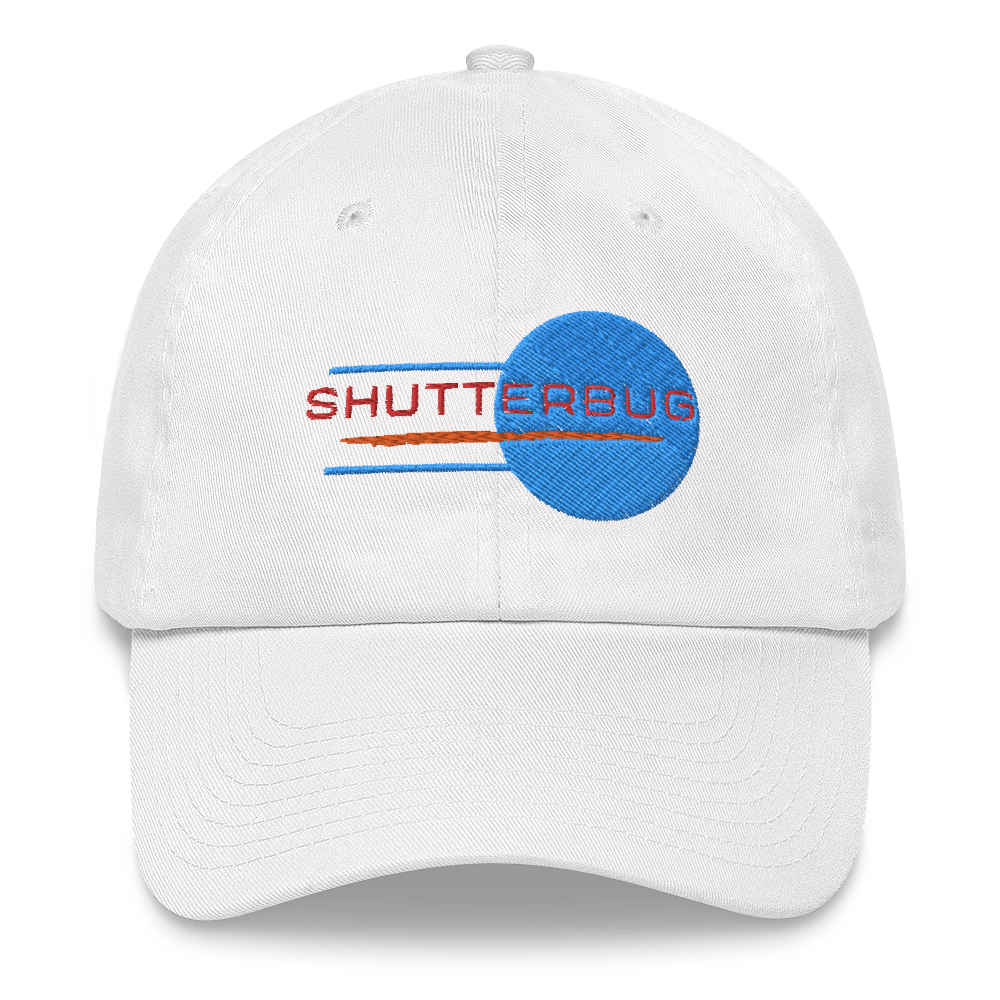 Shutterbug Embroidered Cap - Shutterbug Shop