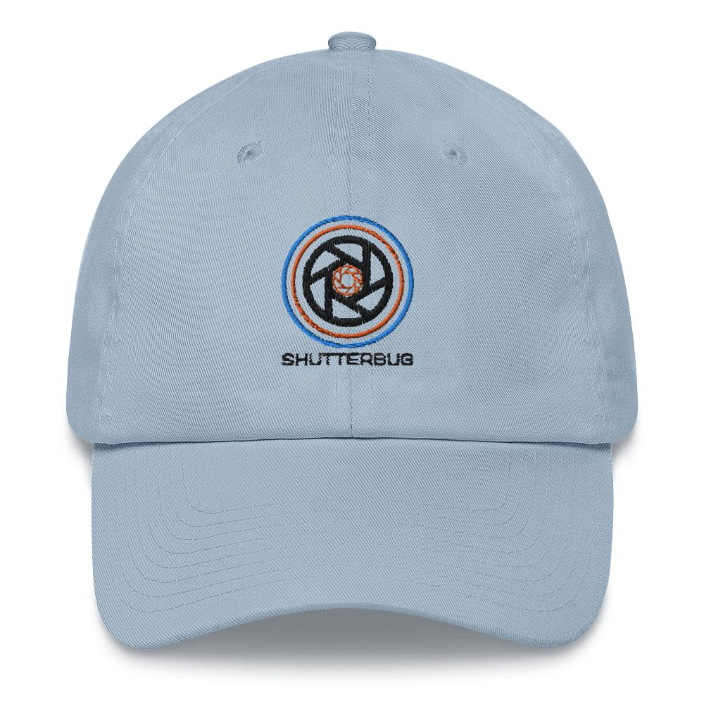 Circles and Shutters Embroidered Cap - Shutterbug Shop