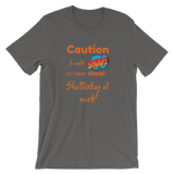 Caution I'm a photographer T-Shirt - Shutterbug Shop