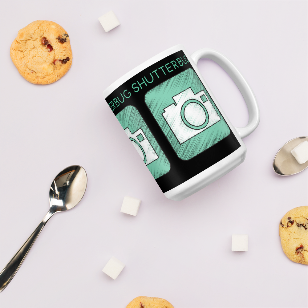 Camera Sketch Mug - Shutterbug Shop