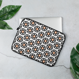 Orange & Black Shutters Laptop Sleeve - Shutterbug Shop