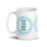 Photographer Starburst Mug - Shutterbug Shop