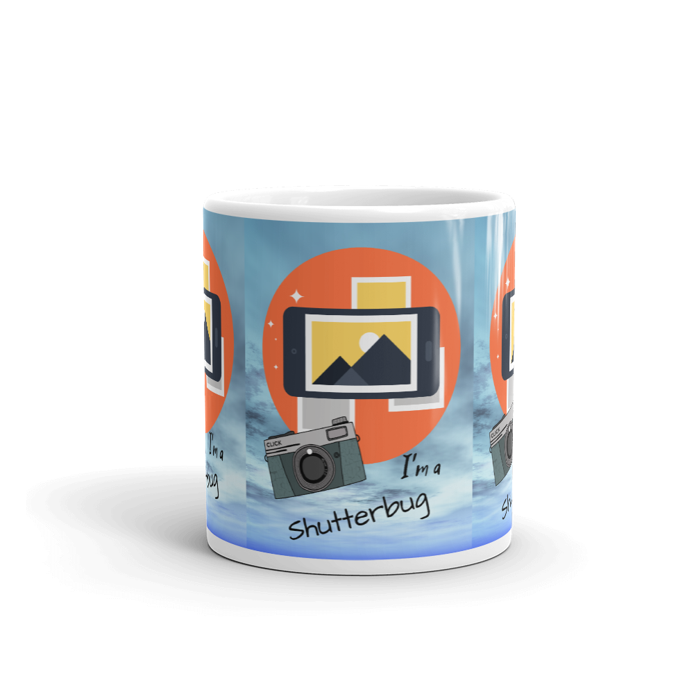 Phone & Camera Photography Mug - Shutterbug Shop