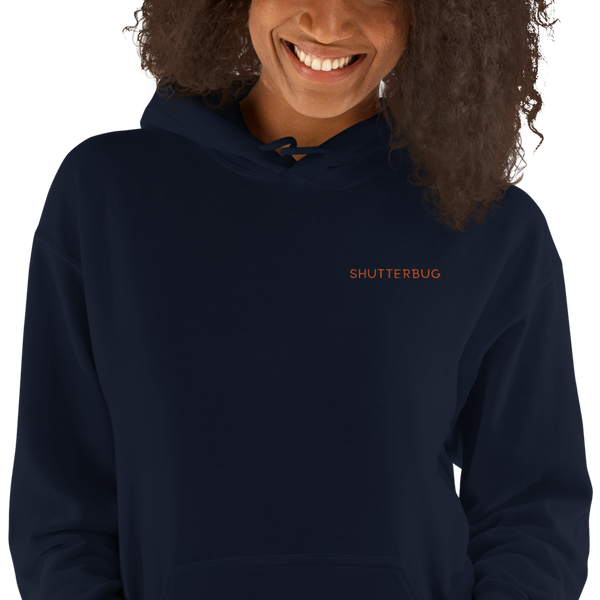 Hoodie Unisex Embroidered (front only) - Shutterbug Shop