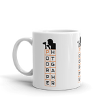 Photographer Silhouette Mug - Shutterbug Shop