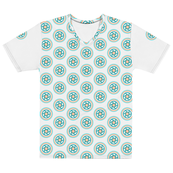 T-shirt Mens All-over Print, Circles & Shutters - Shutterbug Shop