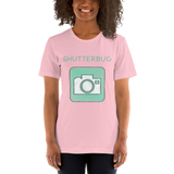 Camera Sketch Shutterbug T-Shirt - Shutterbug Shop