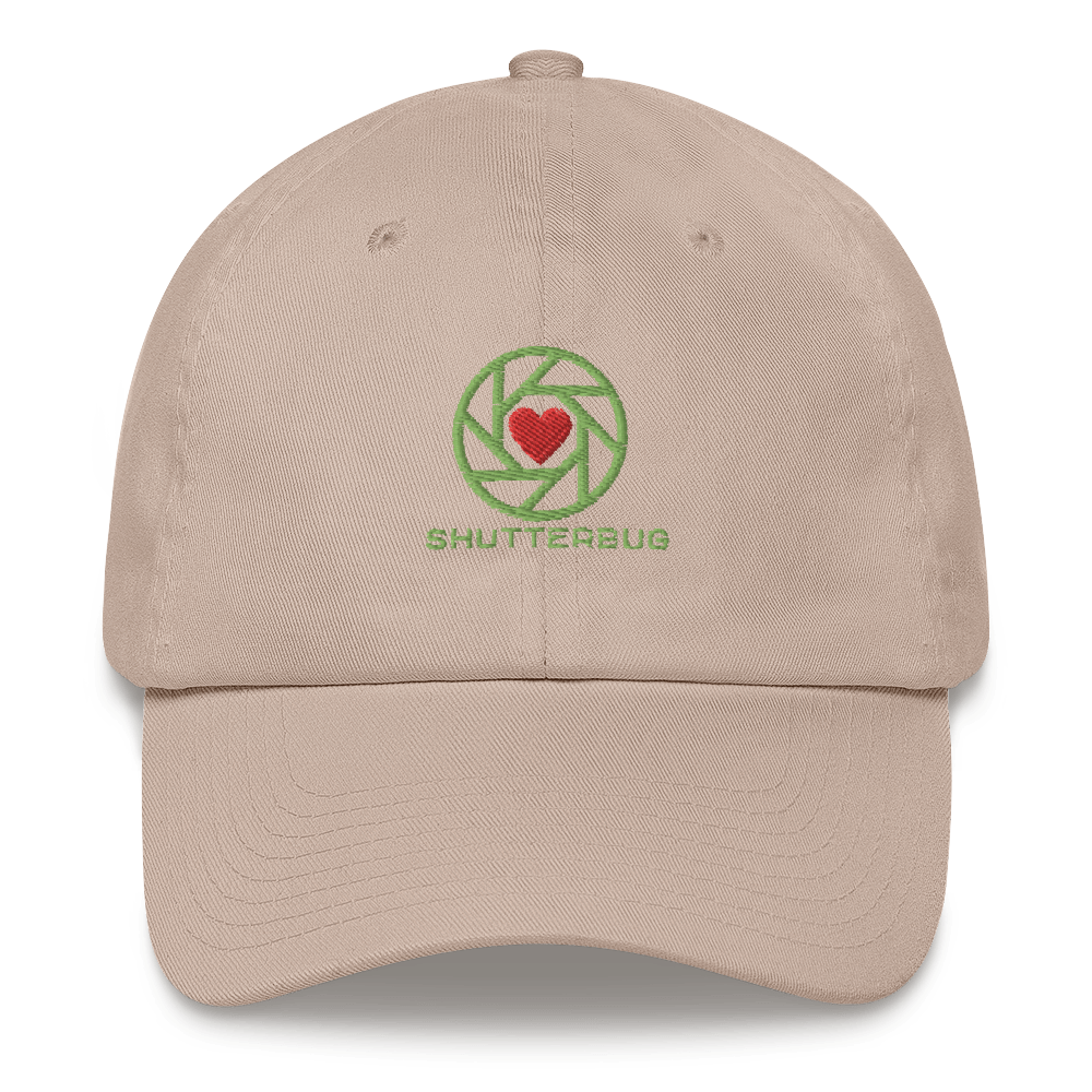 Shutter & Heart Embroidered Cap - Shutterbug Shop