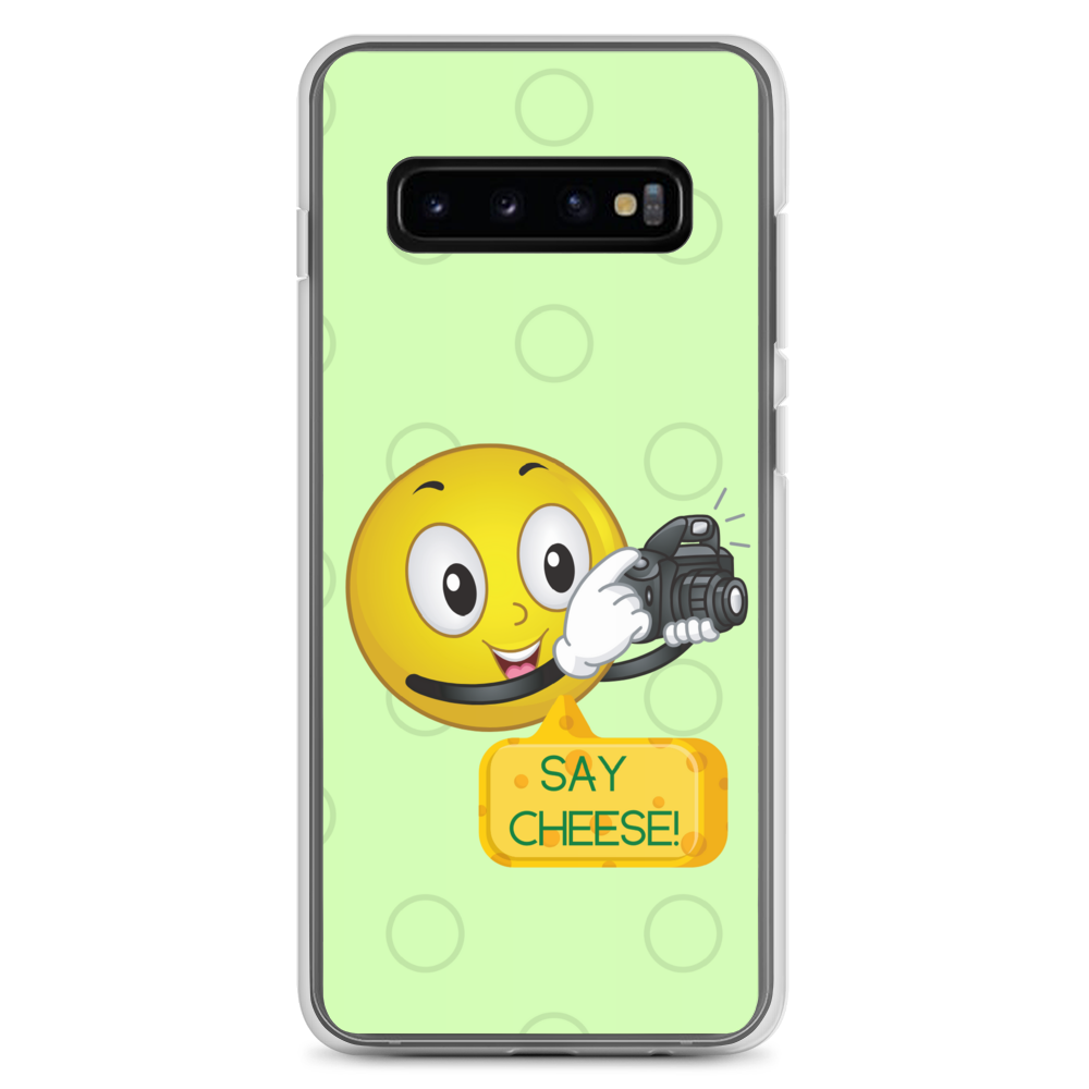 Samsung Galaxy Smiley Face Phone Case S10, S10+, S10e, S9, S9+ - Shutterbug Shop