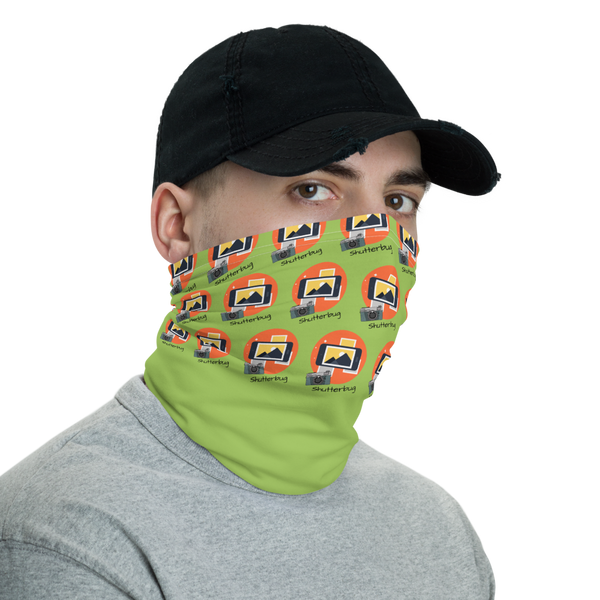 Camera & Phone Neck Gaiter/Face Mask - Shutterbug Shop