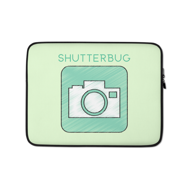 Camera Sketch Laptop Sleeve - Shutterbug Shop