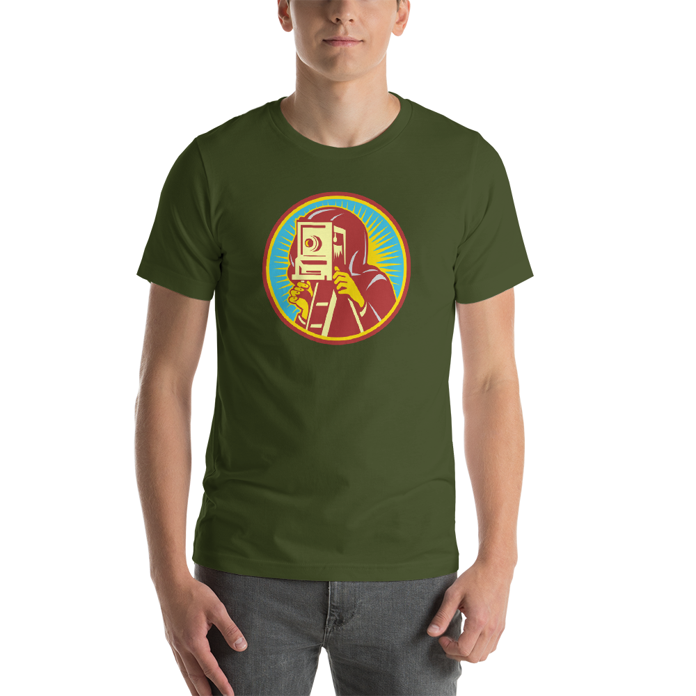 Retro Photographer T-Shirt - Shutterbug Shop