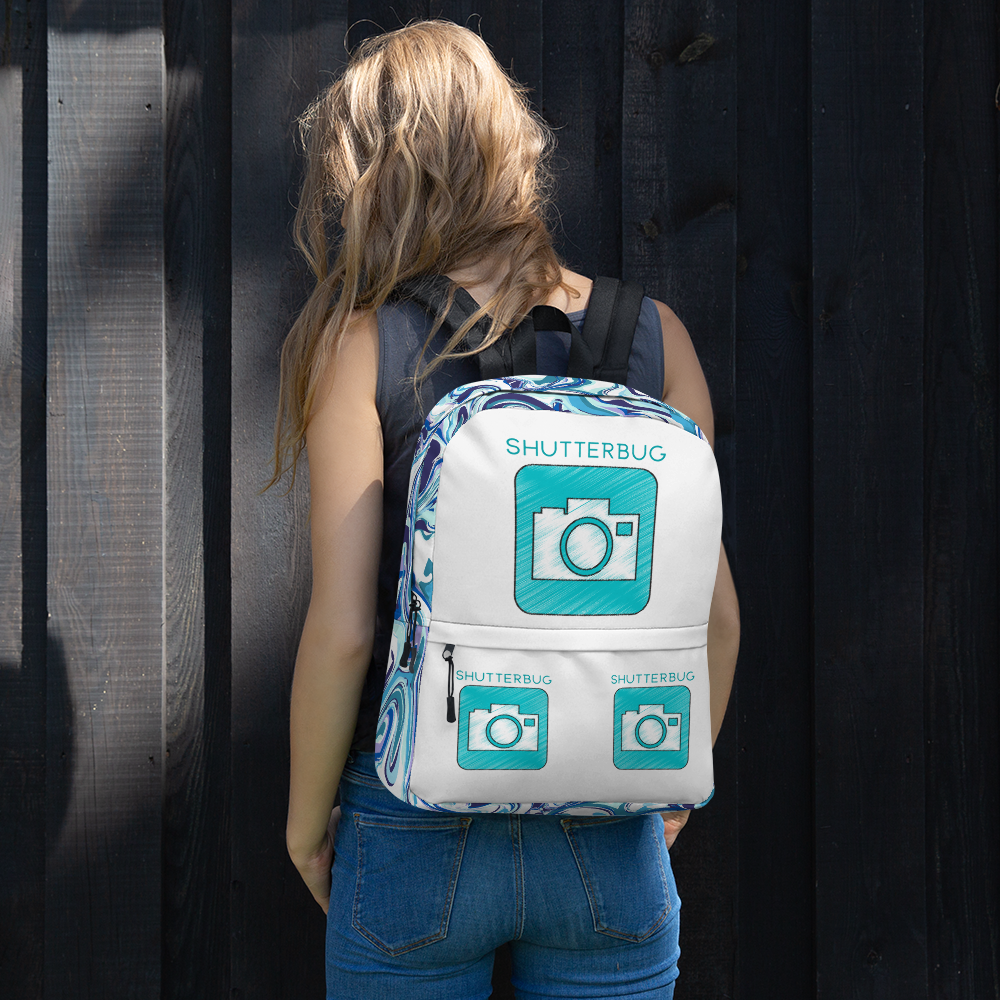 Backpack Custom Design - Shutterbug Shop