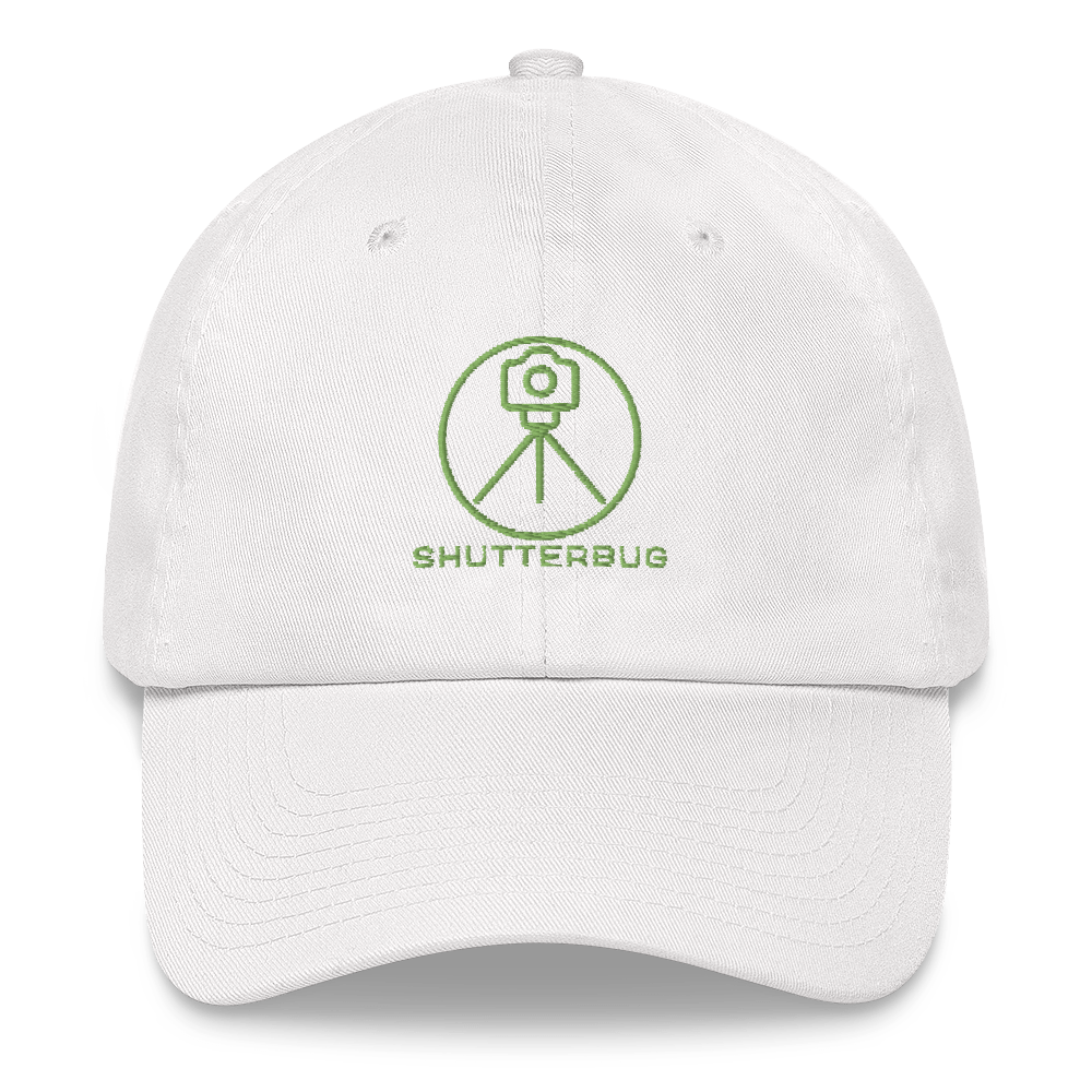 Shutterbug Tripod Embroidered Cap - Shutterbug Shop