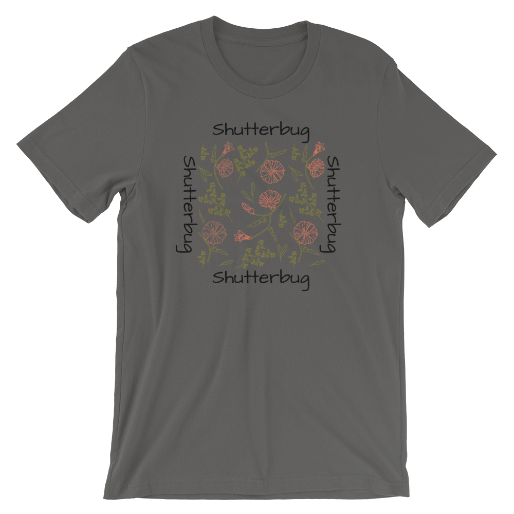 Shutterbug Flowers and Leaves T-Shirt - Shutterbug Shop