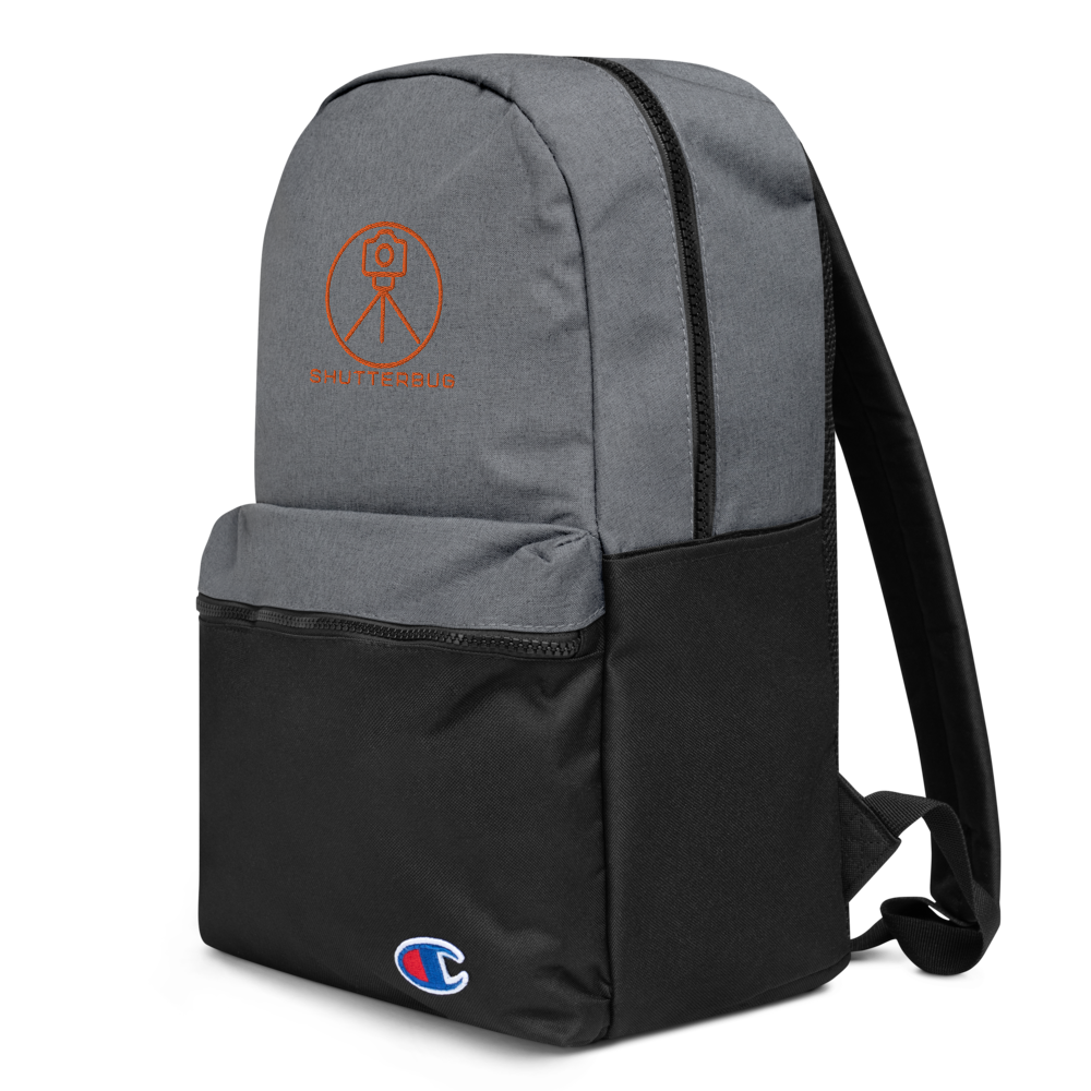 Champion Backpack Custom Embroidered - Shutterbug Shop