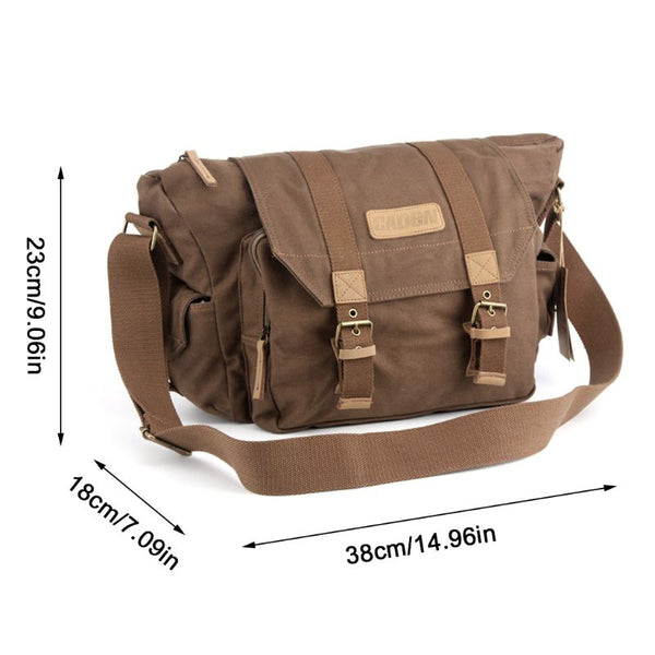 Camera Bag Waterproof Canvas Sling - Shutterbug Shop