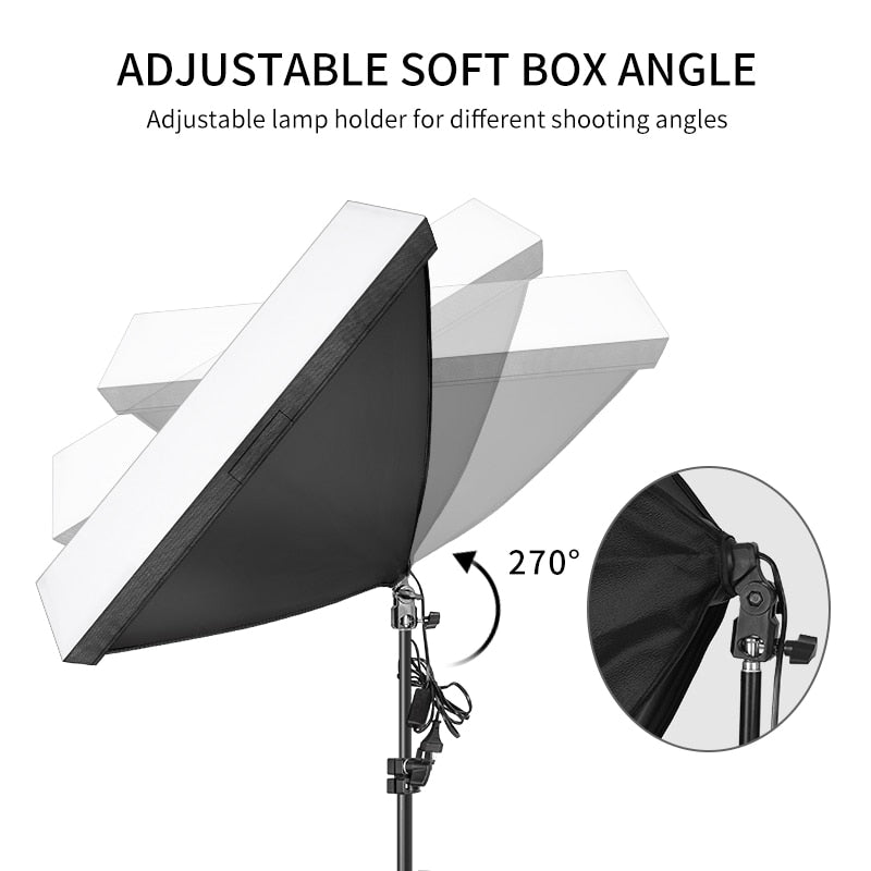 Softbox lighting kit - studio lights - Shutterbug Shop