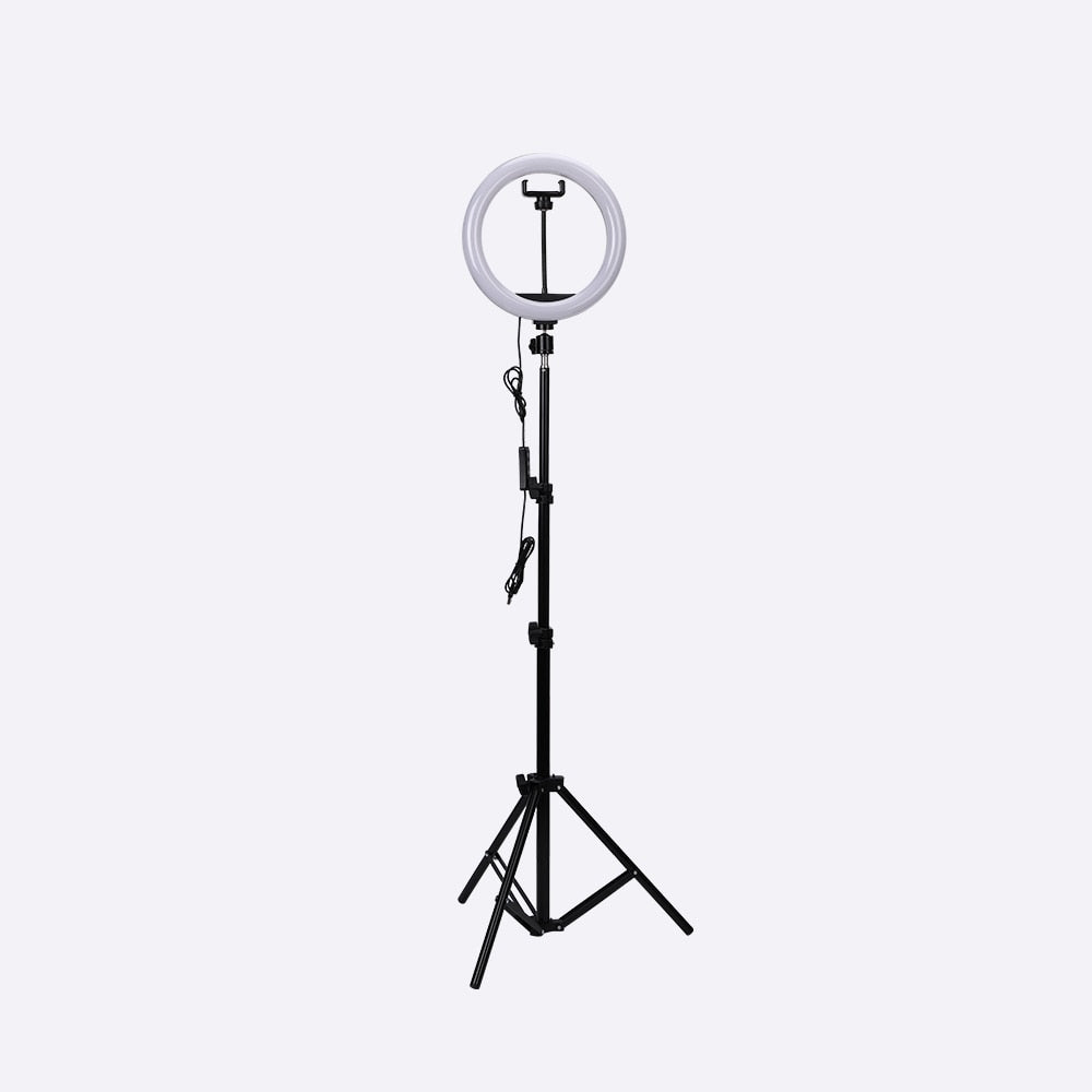 "The ""Beauty Queen"" 10""/26cm Dimmable Ring Light Kit"
